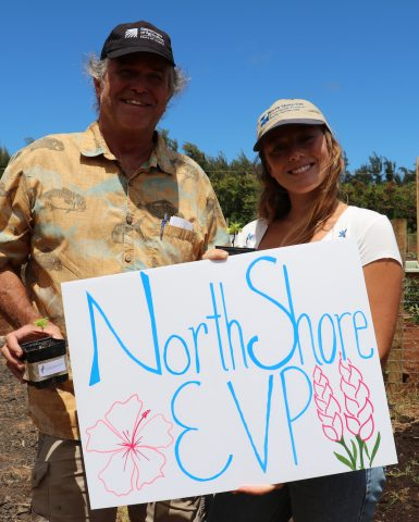 North Shore EVP Plants Seeds of Knowledge at Laulima Gardens Workshop