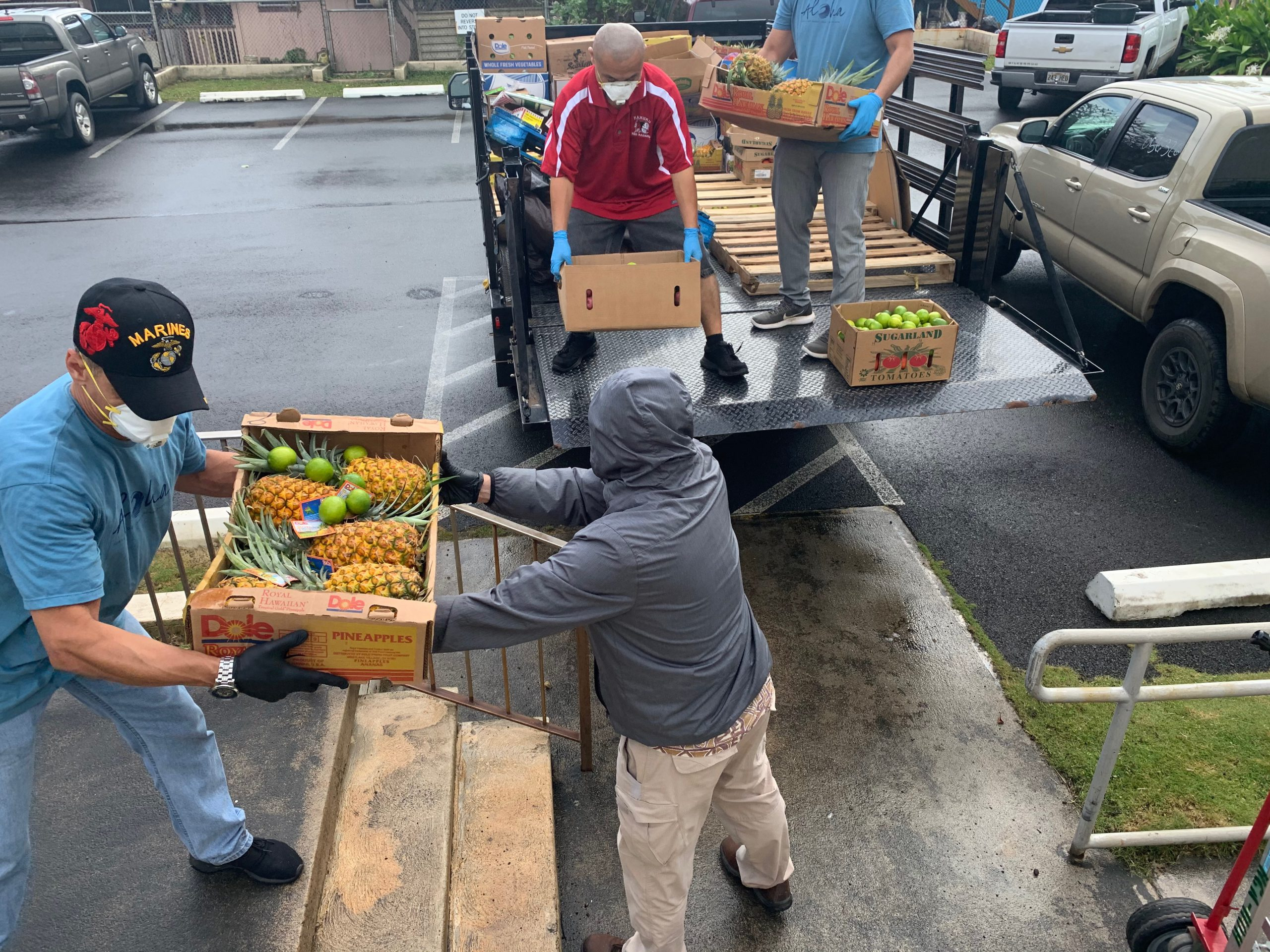Turtle Bay Foundation Donations at Hauula Civic Center